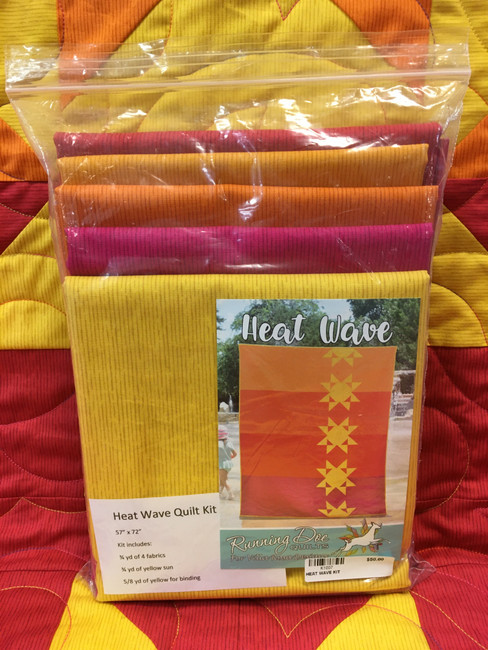 Heat Wave by Running Doe Quilts for Villa Rosa Designs Quilt Kit