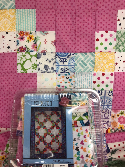 Lexington Quilt Kit by Villa Rosa Designs