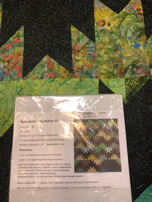 Delectable Mountains Quilt Kit