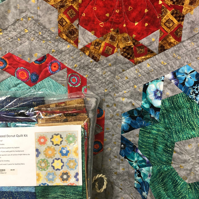 Glazed Donut Quilt Kit