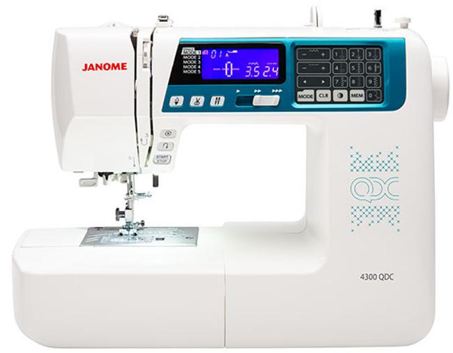 Janome 4300QDC-B