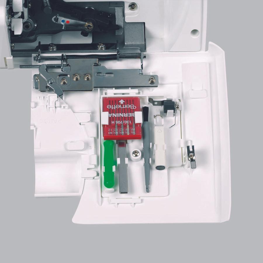 Bernina 1300MDC accessory drawer