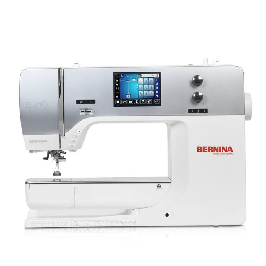 Bernina 740 sewing machine front