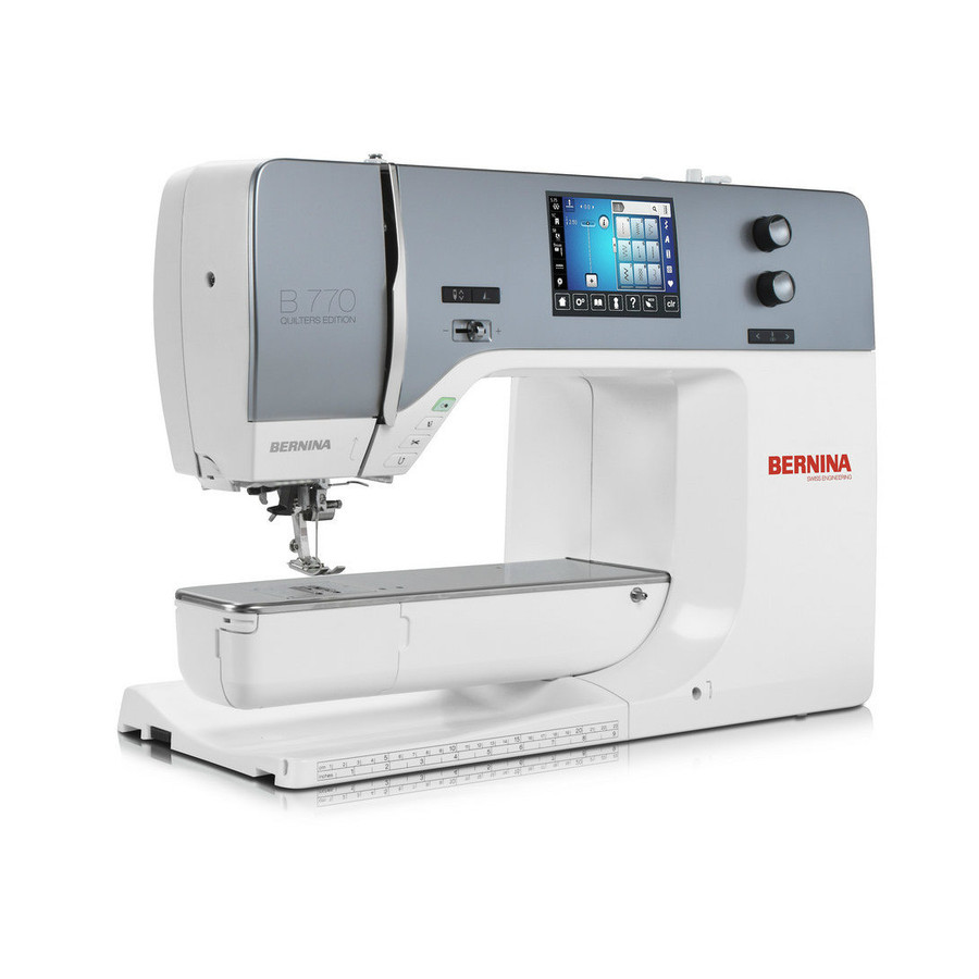 Bernina 770QE sewing machine for quilters
