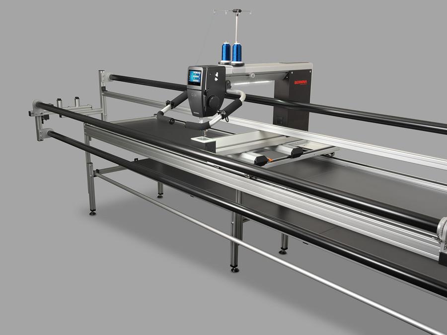 Bernina Q24 Long Arm Quilting Machine on frame