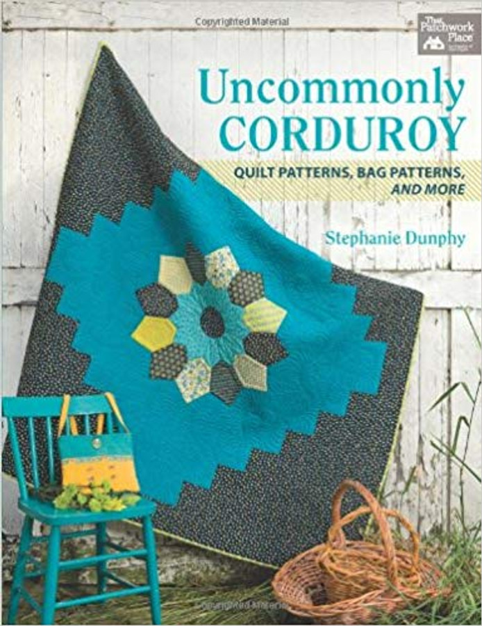 Celebrate the velvety goodness of corduroy with this collection from popular blogger Stephanie Dunphy. So versatile and easy to use, corduroy is what's hot - and these exciting design show what to do with it!
