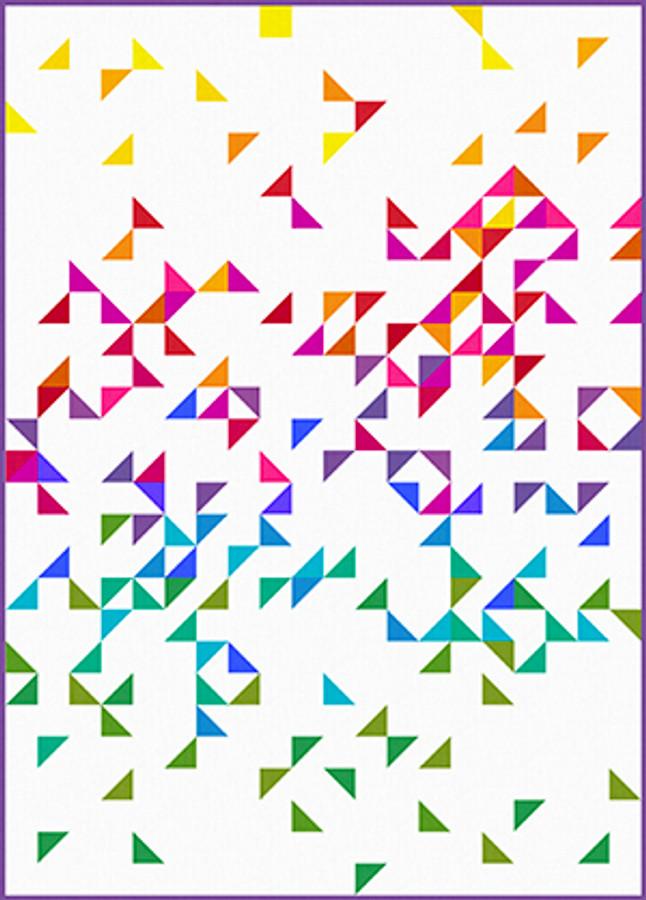quilt size 60 x 84 designed by Jane Dixon