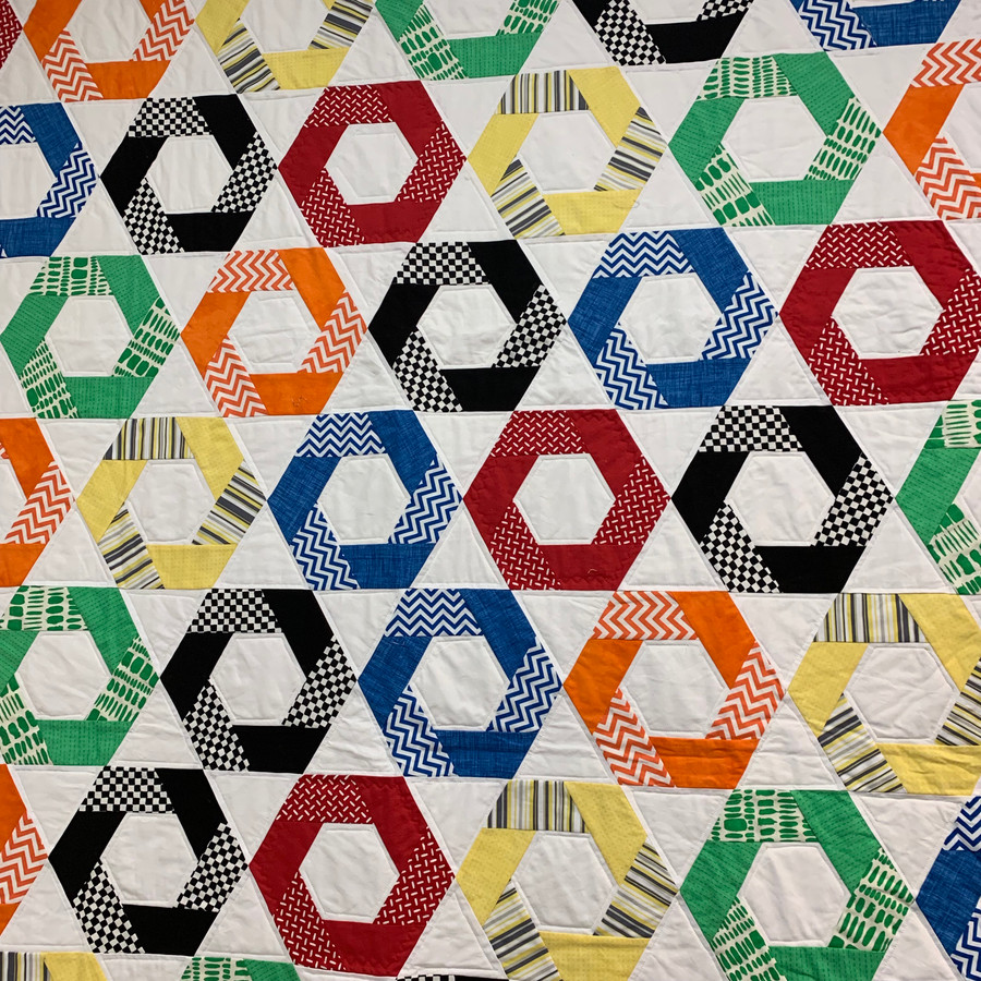50x72 hexagon race flags
