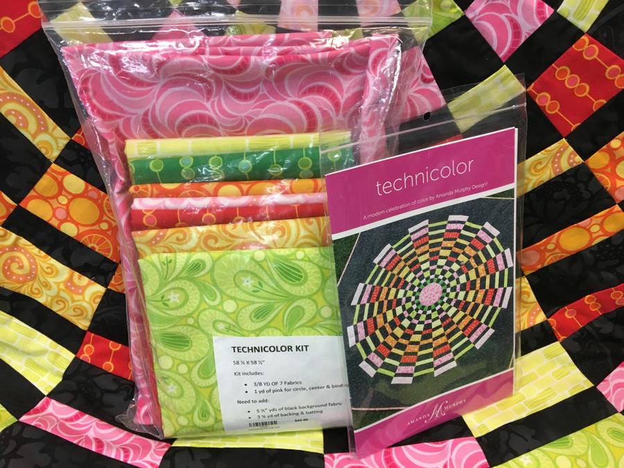 Technicolor Quilt Kit