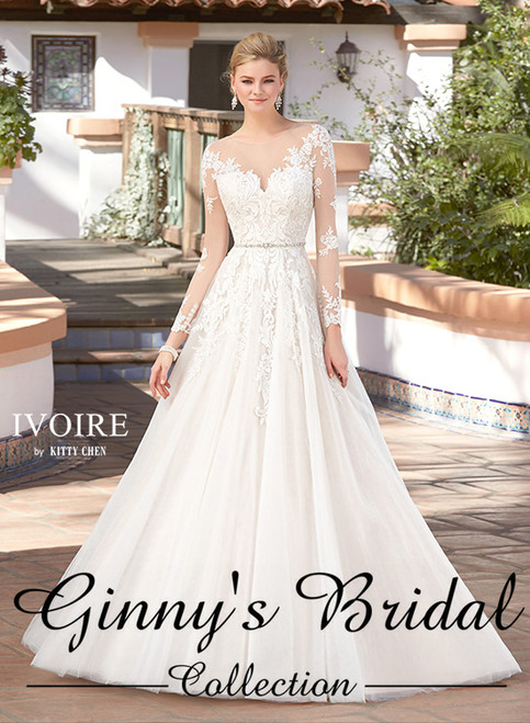 Ivoire by Kitty Chen Elisabetta V1705 Wedding Dress
