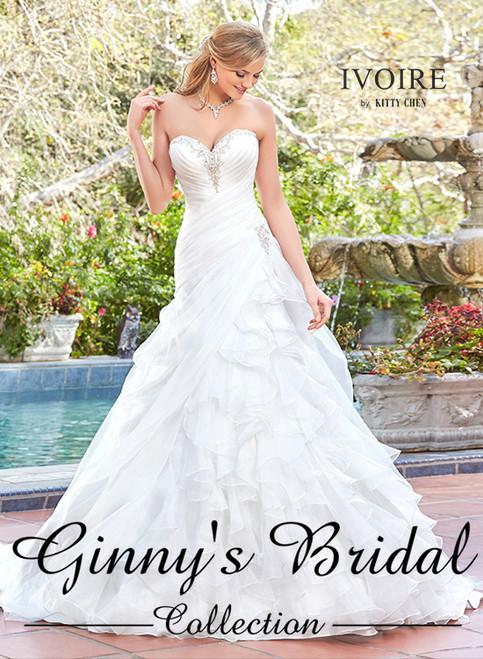 Ivoire by Kitty Chen Rosalia V1718 Wedding Dress