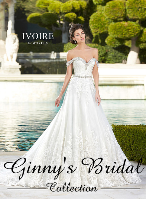 Ivoire by Kitty Chen Tabitha V1611 Wedding Dress