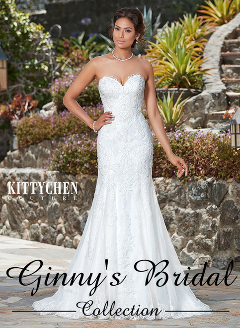 Kitty Chen Couture Capris K1743 Wedding Dress