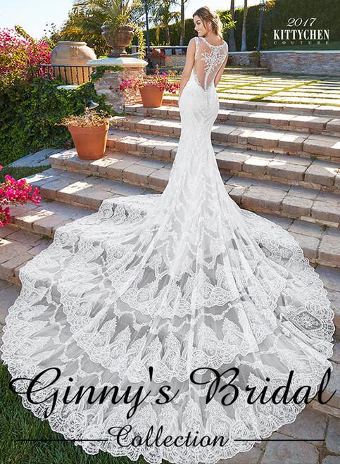 Kitty Chen Couture Rihanna K1754 Wedding Dress