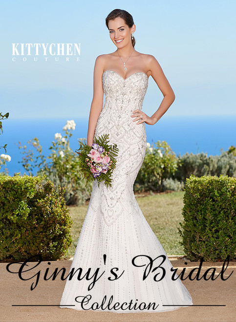 Kitty Chen Couture Jamie K1758 Wedding Dress