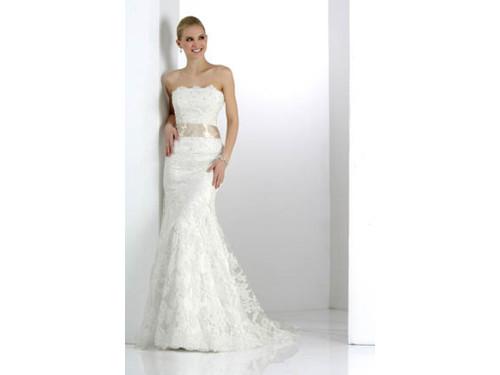 Impression Bridal Couture Wedding Dress 12568 Ivory Size 12 on Sale