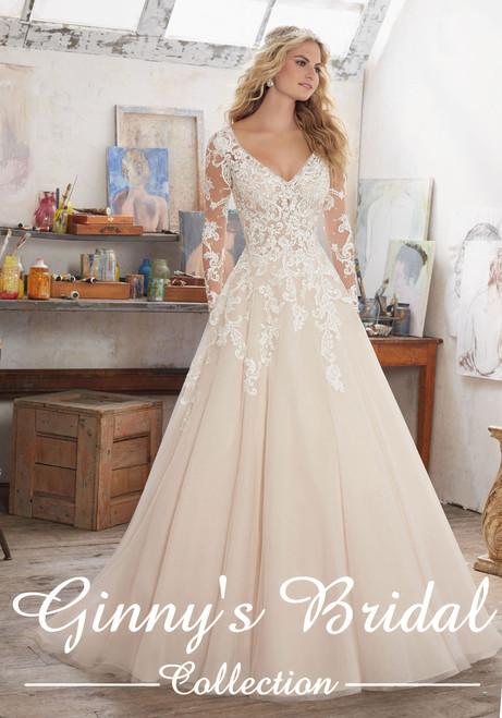 Mori Lee Bridal Wedding Dress Style Maira 8110