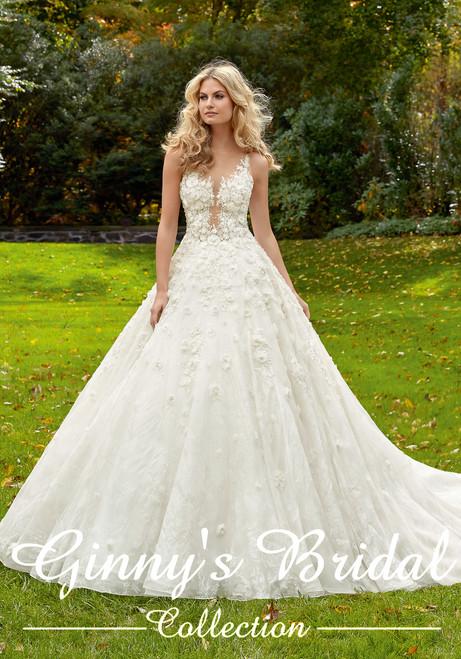Mori Lee Bridal Wedding Dress Style Maritza 8128