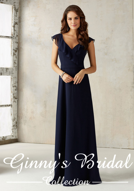 Mori Lee Bridesmaids Dress Style 21527