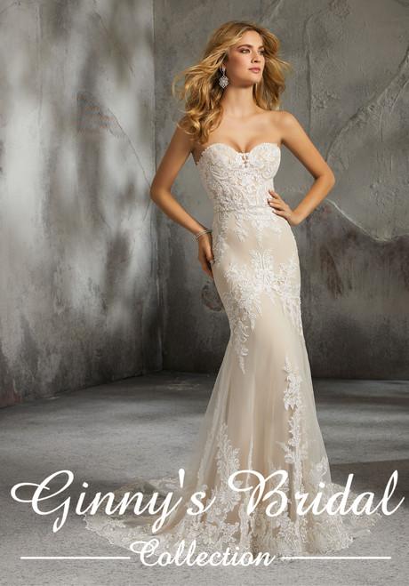 Morilee Bridal Wedding Dress Style Lisette 8278