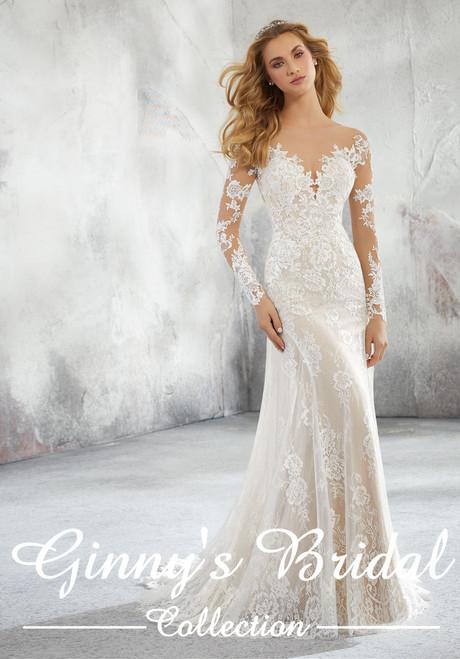 Morilee Bridal Wedding Dress Style Lorraine 8276