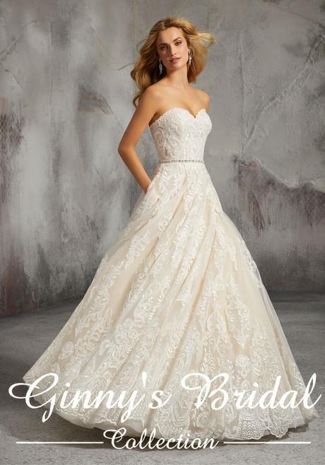 Morilee Bridal Wedding Dress Style Lisa 8273
