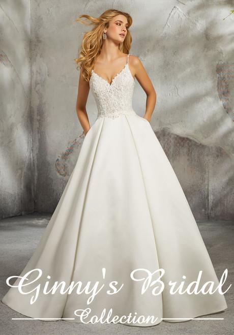 Morilee Bridal Wedding Dress Style Luella 8272