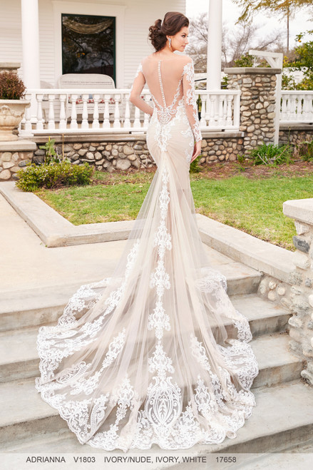 Ivoire by Kitty Chen Wedding Dress Style Ancelina V1803F