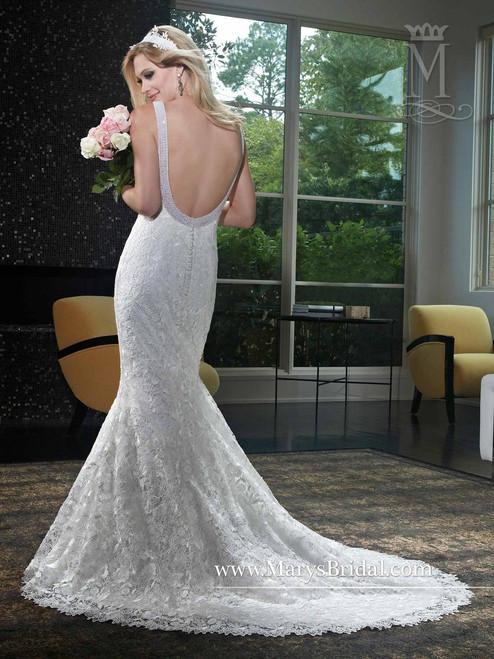 Mary's Bridal Wedding Dress 6412 Ivory Size 12 on Sale