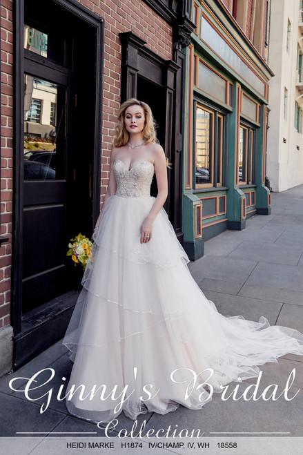 Kitty Chen  Wedding Dress Style Heidi Marke H1874