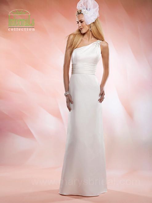 Mary's Bridal Wedding Dress Style 2524 Ivory Size 10 on Sale
