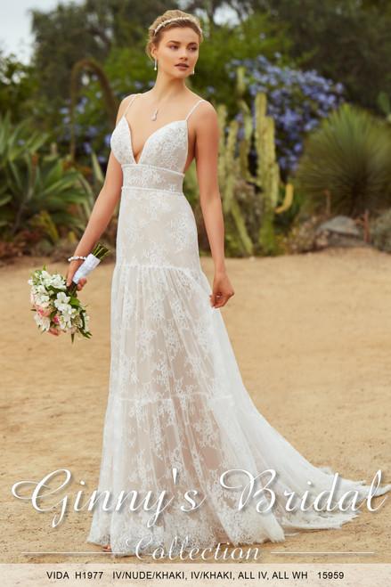 Kitty Chen Wedding Dress Style Vida H1977
