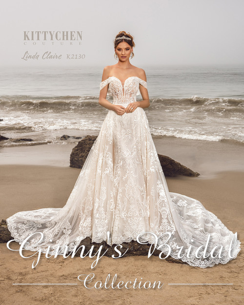 Kittychen Couture Wedding Dress Style Linda Claire K2130