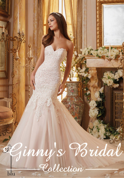 Blu by Mori Lee Wedding Dress 5461