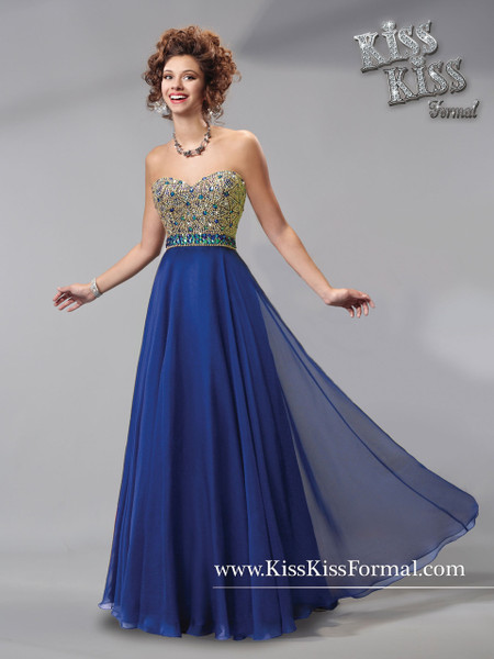 Kiss Kiss Formal by Mary's P3729 New Age Royal Size 8 on SALE