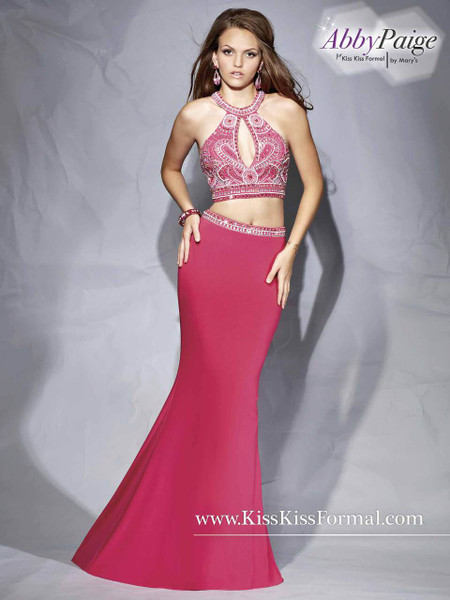 Abby Paige by Mary's P3859 Magenta Size 6 on SALE