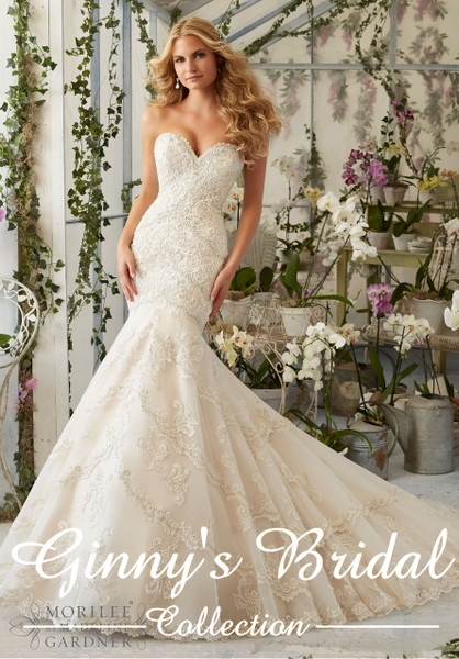 Mori Lee Bridal Wedding Dress Style 2801