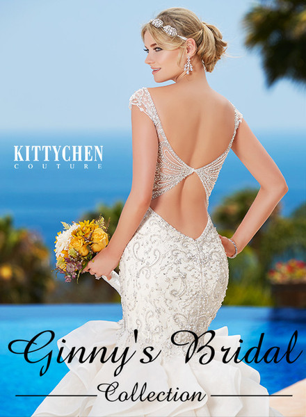 Kitty Chen Couture Charlize H1749 Wedding Dress
