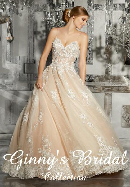 Mori Lee Bridal Mariska Wedding Dress Style 8187