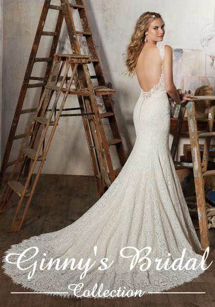 Morilee Bridal Wedding Dress Style Macy/8104 Ivory Size 14 on Sale