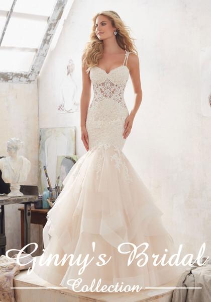 Mori Lee Bridal Wedding Dress Style Marciela 8118