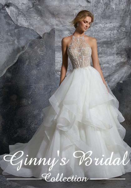 Mori Lee Bridal Wedding Dress Style Kali 8202