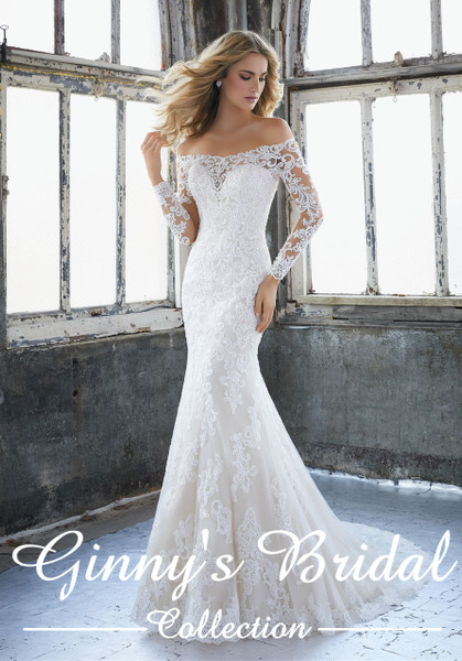 Mori Lee Bridal Wedding Dress Style Karlee 8207