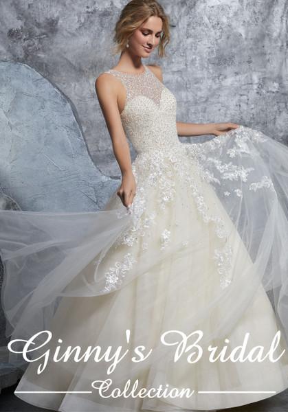 Mori Lee Bridal Wedding Dress Style Kiara 8215