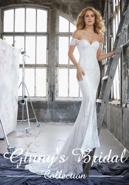 Mori Lee Bridal Wedding Dress Style Karissa 8222