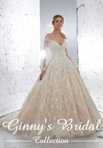 Mori Lee Bridal Wedding Dress Style Kristabelle 82261