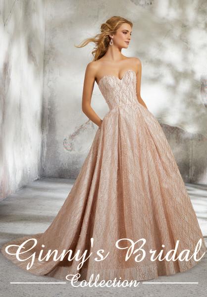 Mori Lee Bridal Wedding Dress Style Lucrezia 8295