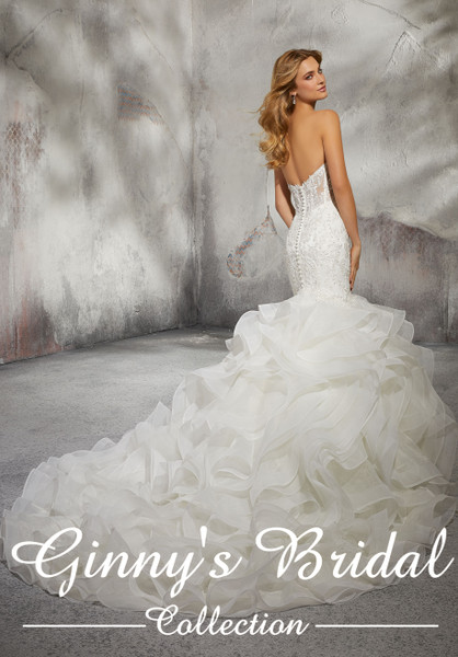 Morilee Bridal Wedding Dress Style Leona 8282
