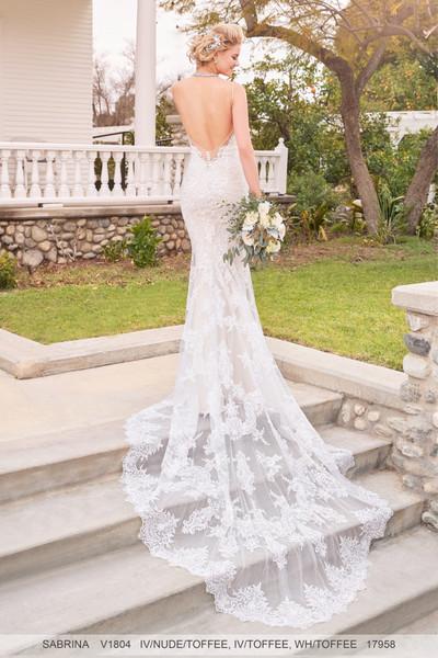 Ivoire by Kitty Chen Wedding Dress Style Sabrina V1804