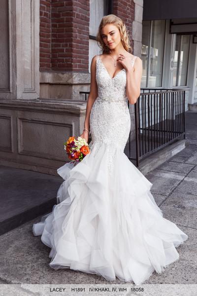 Kitty Chen Lacey H1891 Wedding Dress